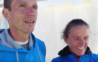 Interview mit Claudia und Arnd Hille beim Engadin Swimrun YouTube