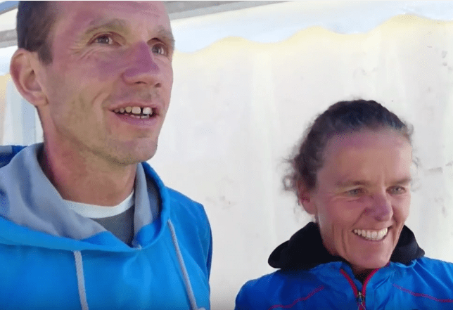 Interview mit Claudia und Arnd Hille beim Engadin Swimrun YouTube