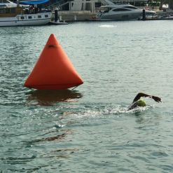 inflatable marker buoys triangle marker buoy orange