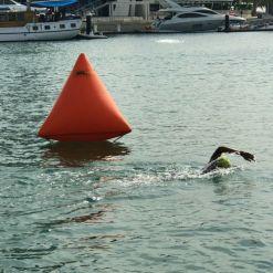 inflatable marker buoys triangle marker buoy orange
