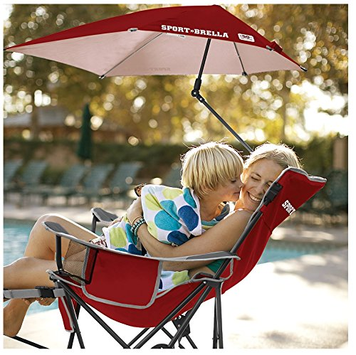 SportBrella 3Position Recliner Chair with Removable