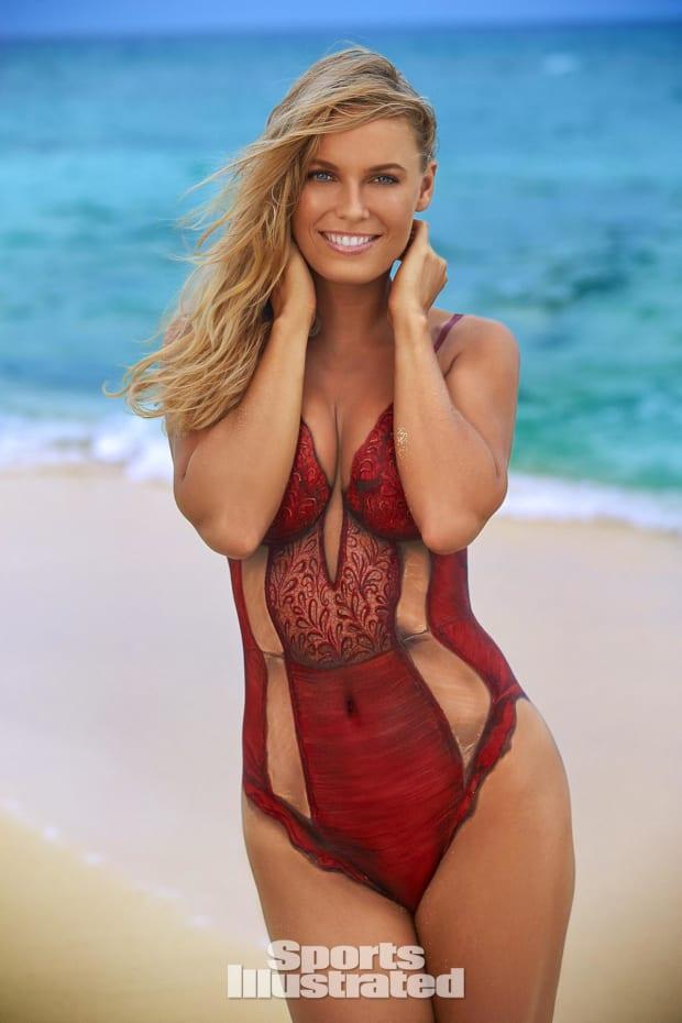 Sports Body Paint Pics : sports, paint, Athletes, Paint:, Swimsuit, SI.com