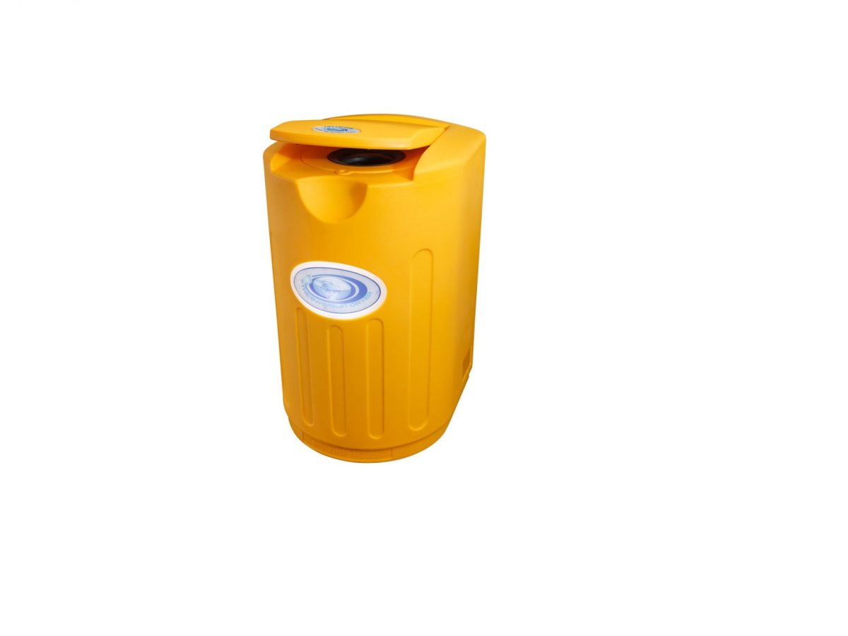 NEXT GENERATION SWIMSUIT DRYER – WALL MOUNTED – CANARY YELLOW
