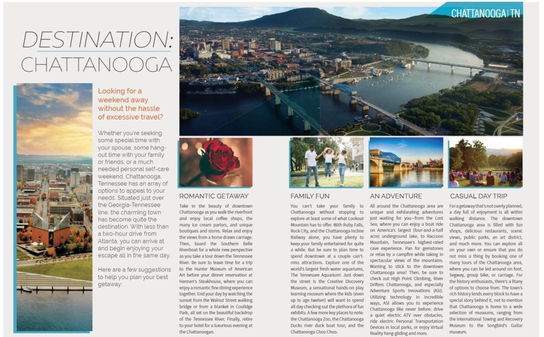 destination Chattanoogas article