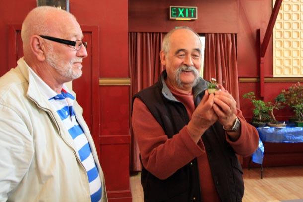 Bob Bailey & Dan Barton Exmouth Show 2011