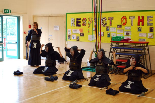 Kendo at Japanese Cultural Event Swindon