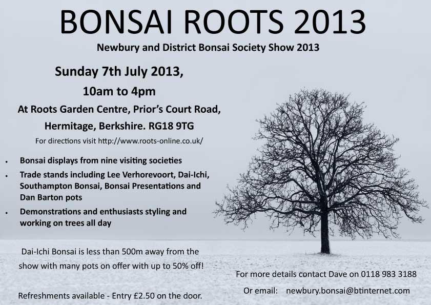 Bonsai Roots Show Poster