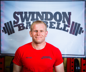Swindon Barbell Coach Karl Marillier