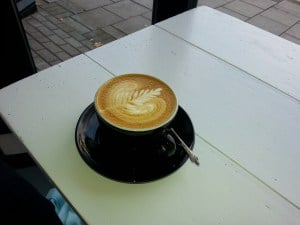 Latte art Darkroom Espresso