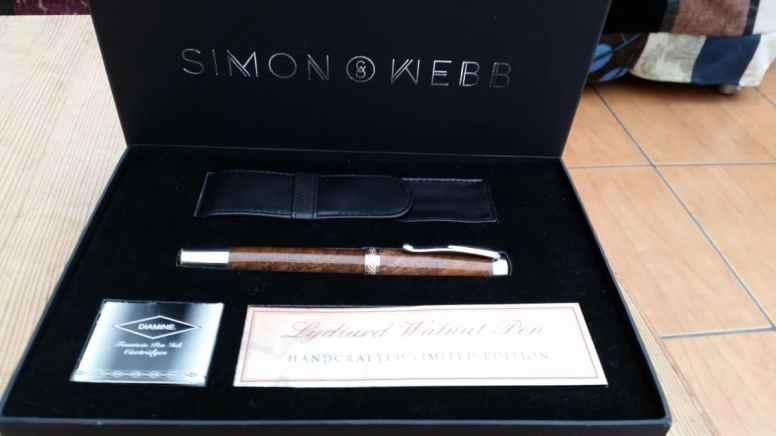 Pen in presentation box