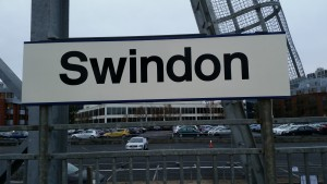 Swindon station sign