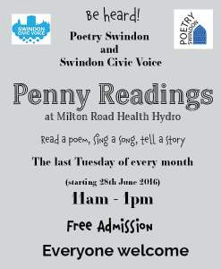 Swindon penny Readings poster