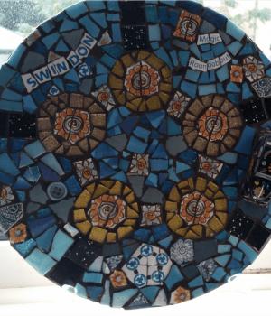 Magic roundabout mosaic