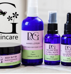 Pink and green products