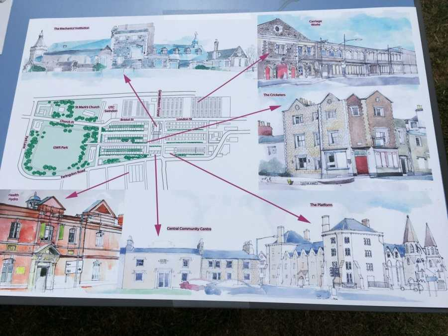 Plans of railway village conservation area