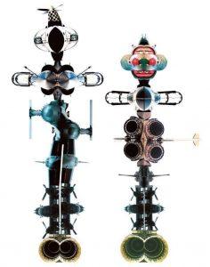 Aerobots images by David Bent