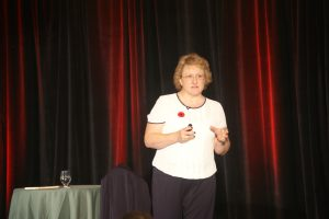 Helen presents at a 2016 Canadian conference - clinical hypnotherapist goes to Las Vegas