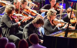 Swindon Symphony orchestra playing at STEAM