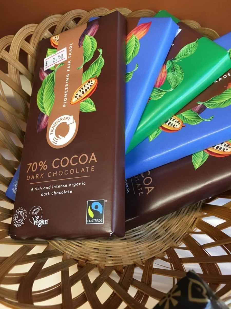 Vegetarian/vegan chocolate