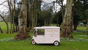 The Prosecco Party van