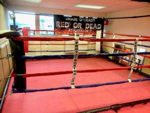 Swindon Martial Arts Boxing Ring
