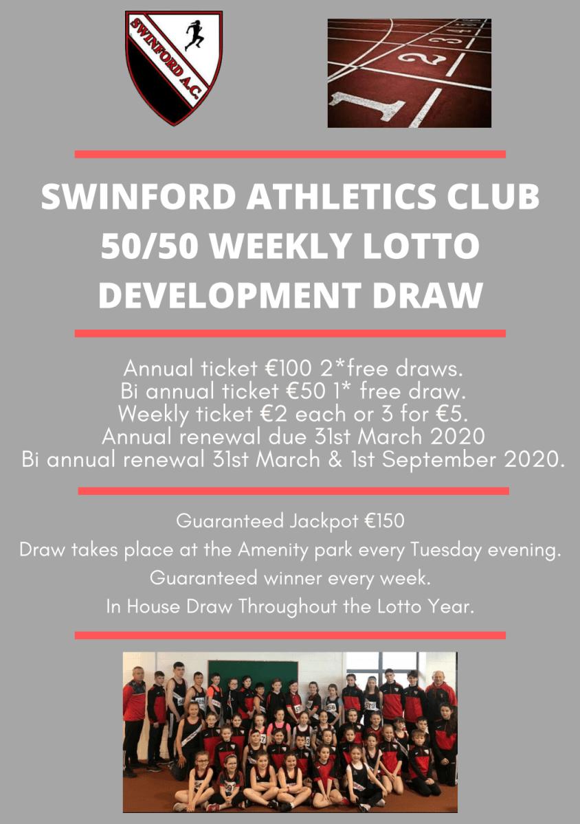 Lotto Poster Swinford A.C.