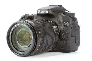 A typical DSLR camera
