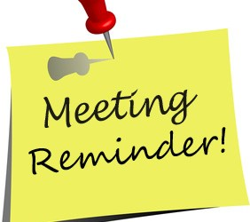 Next Meeting Wednesday 15th February 2017
