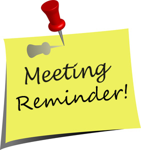 Next Meeting Wednesday 21st November