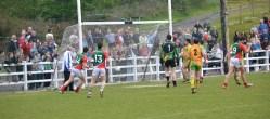 Mayo Goal on Swinford Pitch