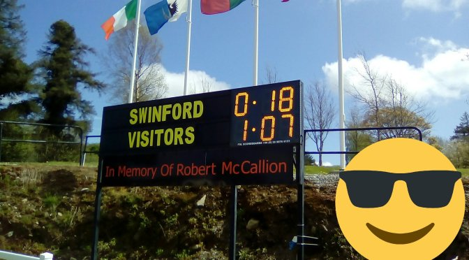 Senior League Div 4 Swinford v Ballina Match report