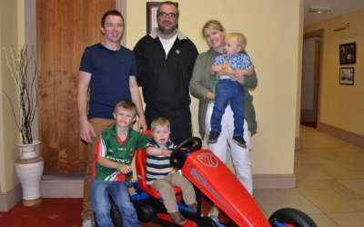 James Campbell Is The Winner Of The Go-Cart