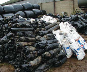 Farm Plastic Collection In Mayo 2016