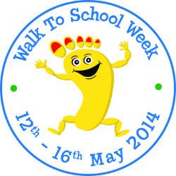 National Walk To School Week 2014