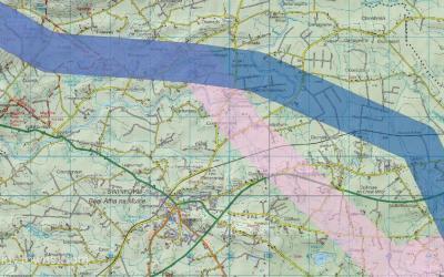 Proposed Eirgrid Underground Route