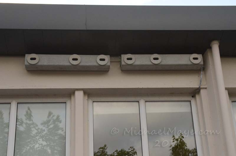 Swifts nest box's installed