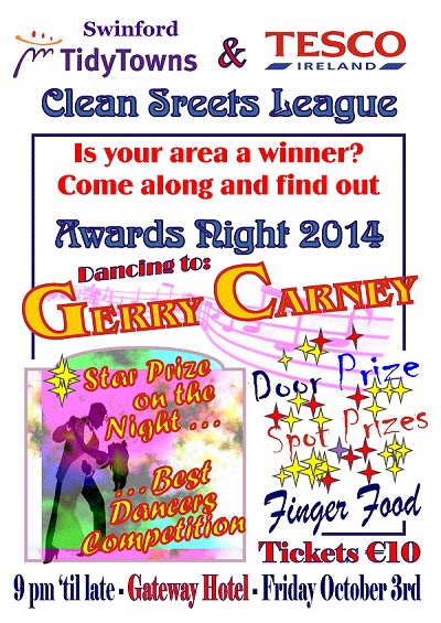 2014 Swinford Clean Street League Awards Night