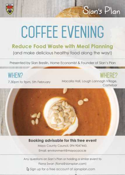 Free Talks On Meal Planning