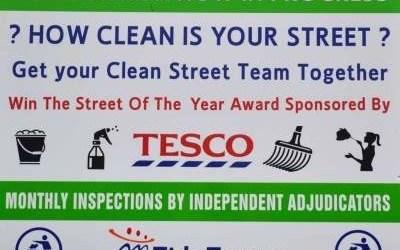 2016 Tesco Swinford Clean Street League July Results