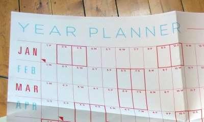year planner logo