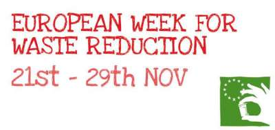 european week for waste reduction 21st to 29th November 2015