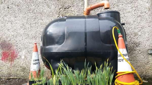 Rainwater harvesting project water butt-1500ltr