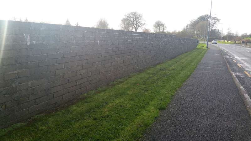 Swinford Amenity Park Wall project