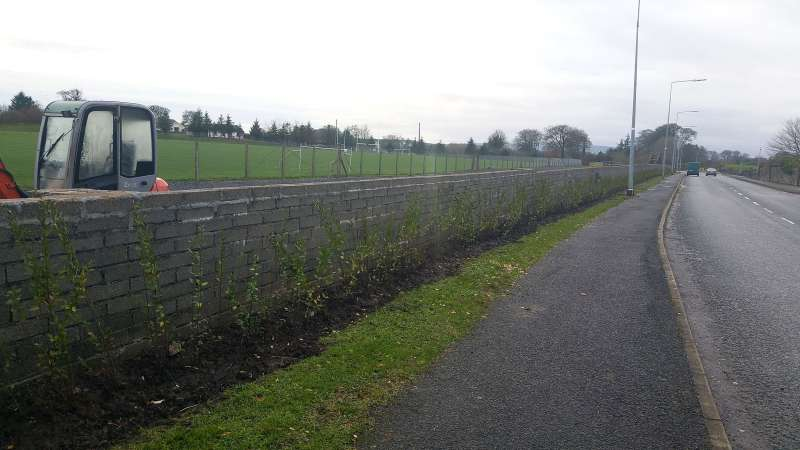 Swinford Amenity Park Wall project-20151130_141516