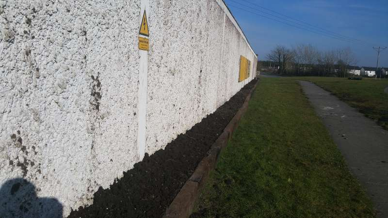 Swinford ESB wall flowerbed-20160314_153929