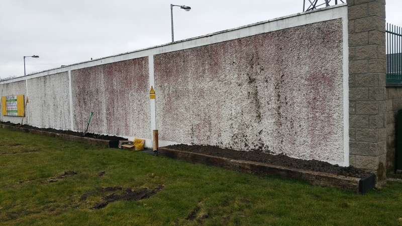 Swinford ESB wall flowerbed-20160319_112355