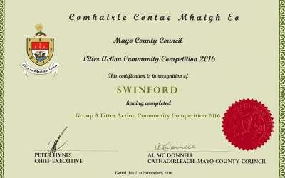 2016 Mayo Cleaner Community Awards