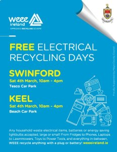 WEEE Electrical Collection Swinford March 2017