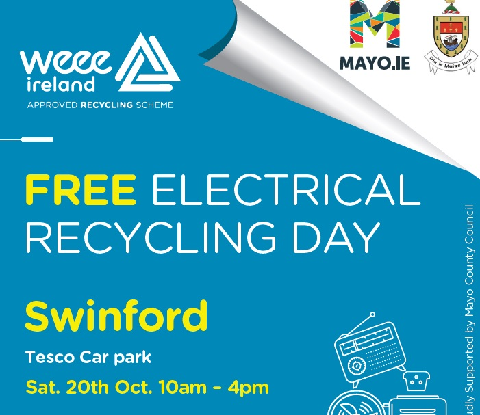 WEEE Electrical Collection Swinford 2018