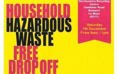 Household Hazardous Waste Drop Off Event 7th December